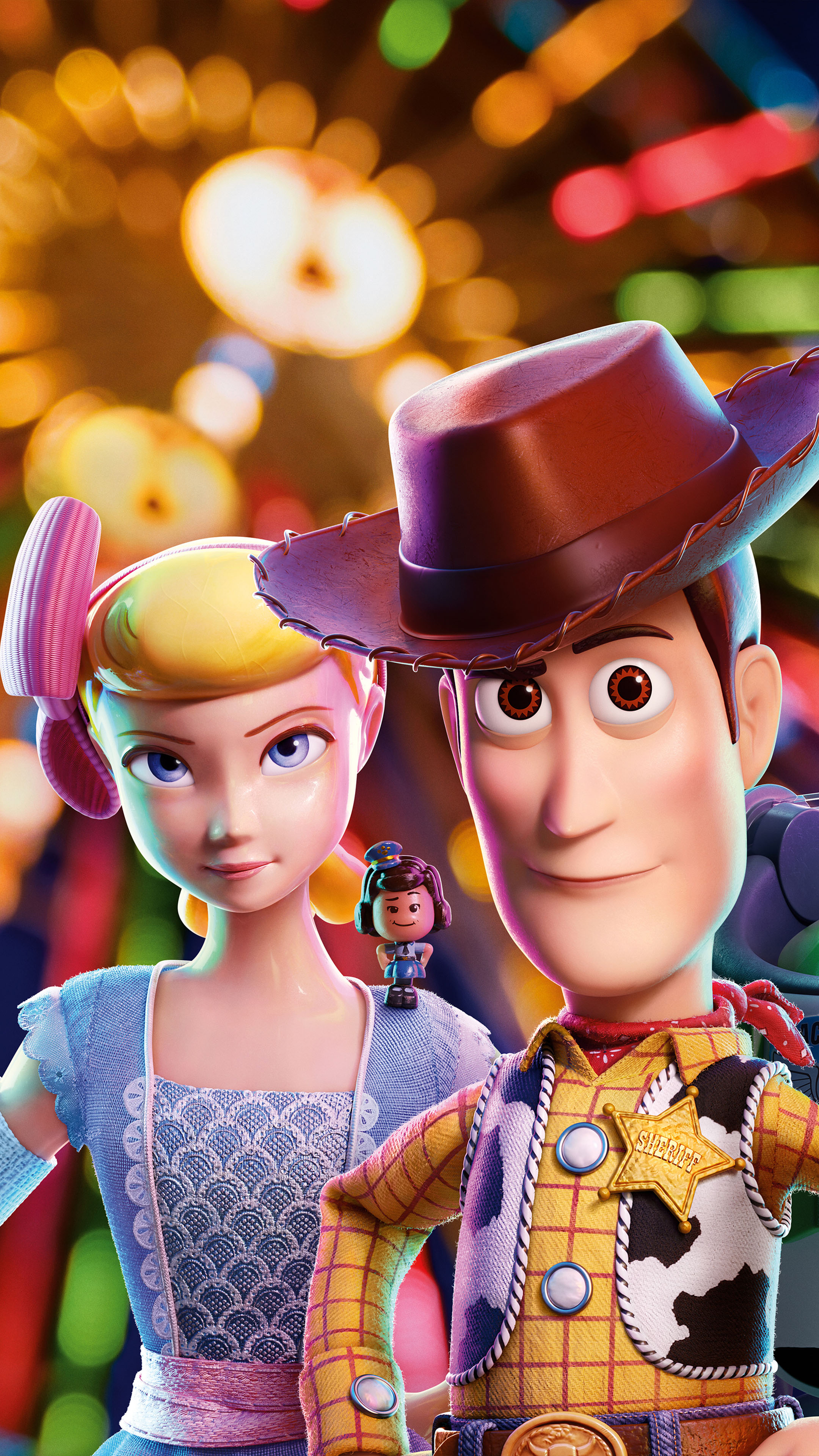 Bo Peep & Woody In Toy Story 4 Animation Free 4K Ultra HD ...