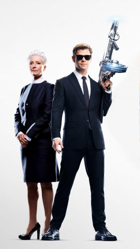 Chris Hemsworth & Emma Thompson In Men In Black International 4K Ultra HD Mobile Wallpaper