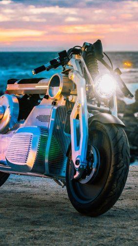 Curtiss Zeus Concept Super Bike 4K Ultra HD Mobile Wallpaper