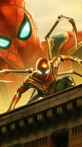 Iron Spider Spider-man Far From Home 2019 4K Ultra HD Mobile Wallpaper