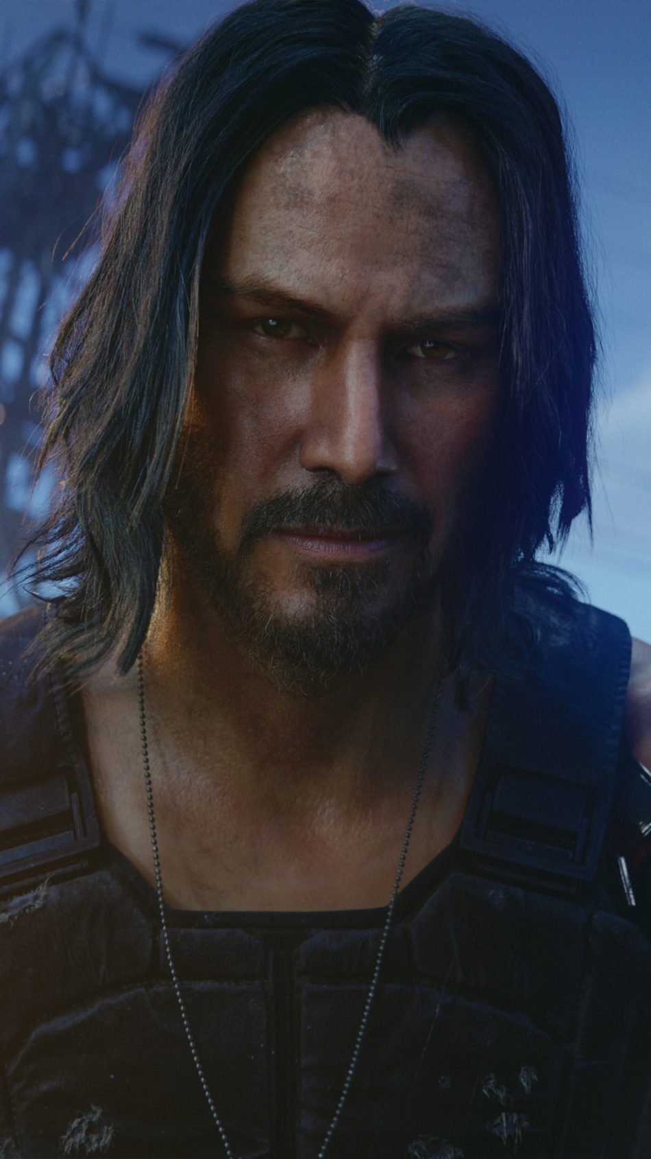 Keanu Reeves Cyberpunk 2077 4K Ultra HD Mobile Wallpaper
