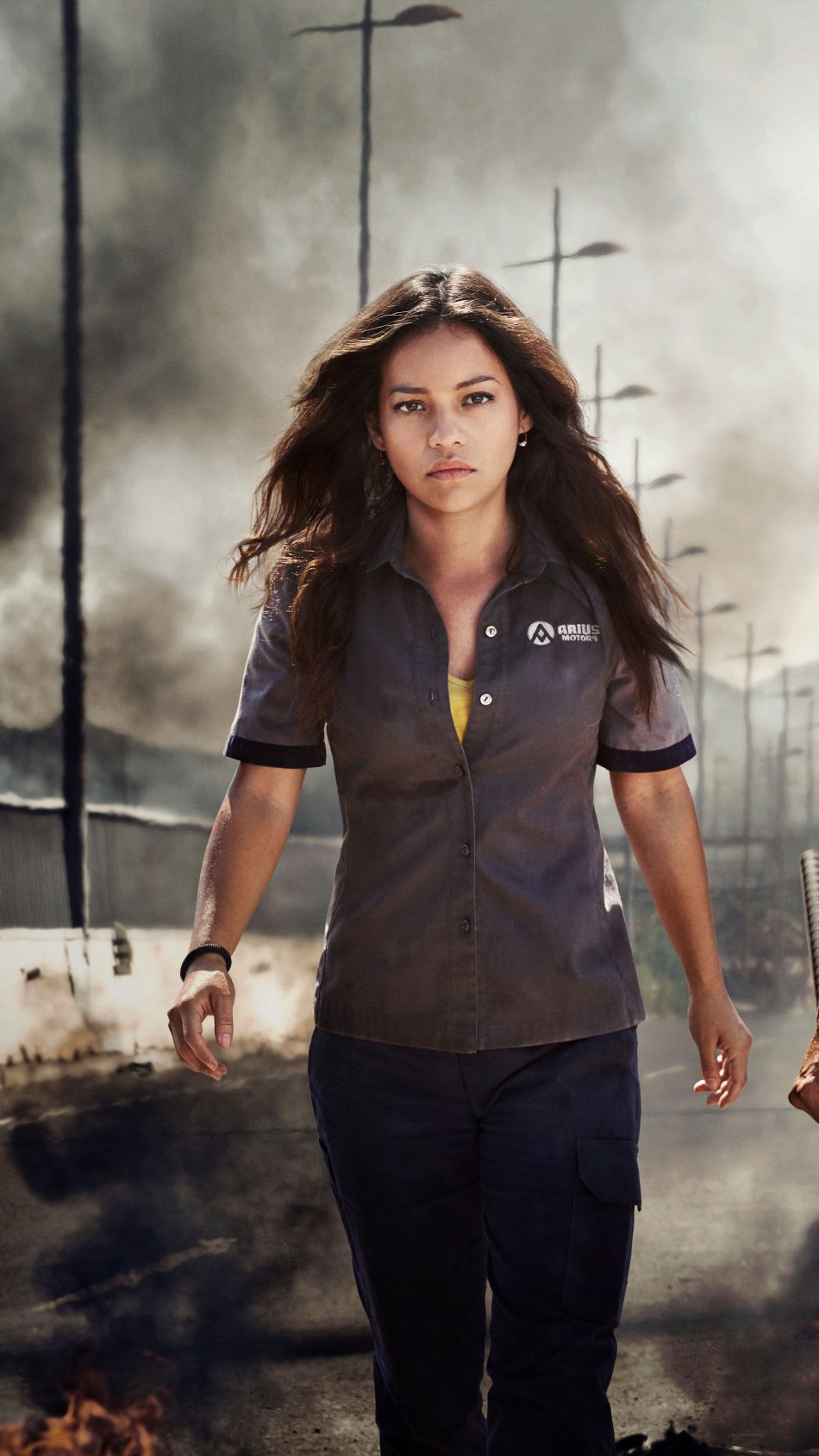 Natalia Reyes In Terminator Dark Fate 2019 4K Ultra HD Mobile Wallpaper