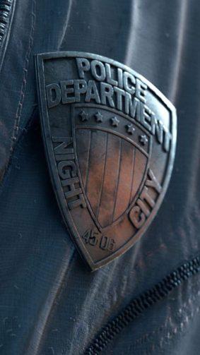 Night City Police Department Cyberpunk 2077 4K Ultra HD Mobile Wallpaper