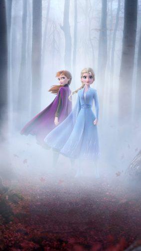 Queen Elsa & Anna In Frozen 2 2019 4K Ultra HD Mobile Wallpaper
