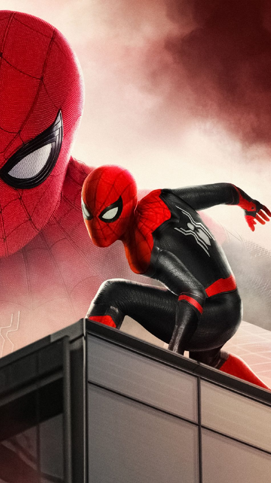 Download Spider Man Far From Home 2019 Poster Free Pure 4k