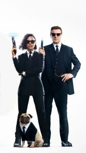 Tessa Thompson & Liam Neeson In Men In Black International 4K Ultra HD Mobile Wallpaper