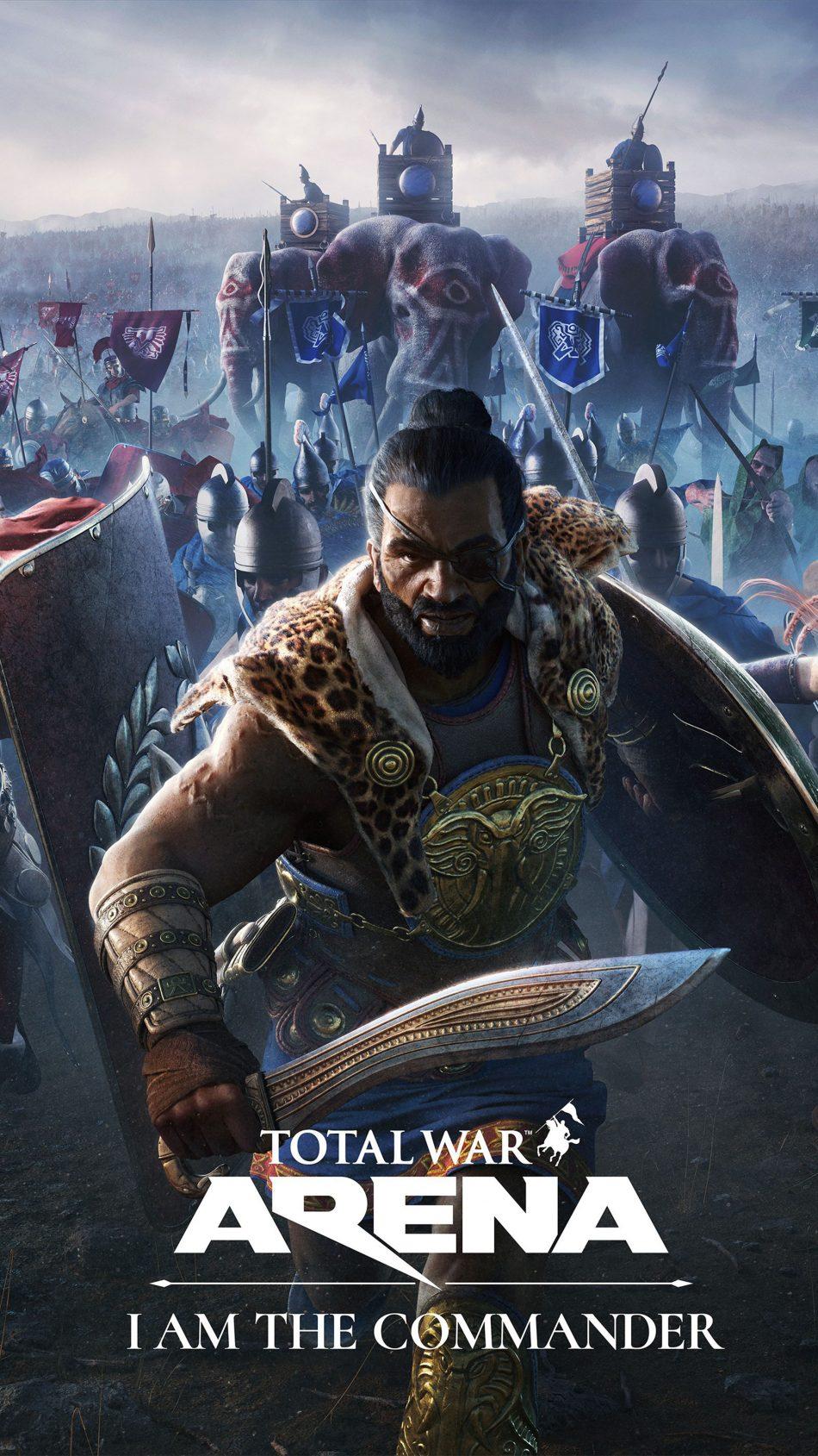 Total War Arena - I Am The Commander 4K Ultra HD Mobile Wallpaper