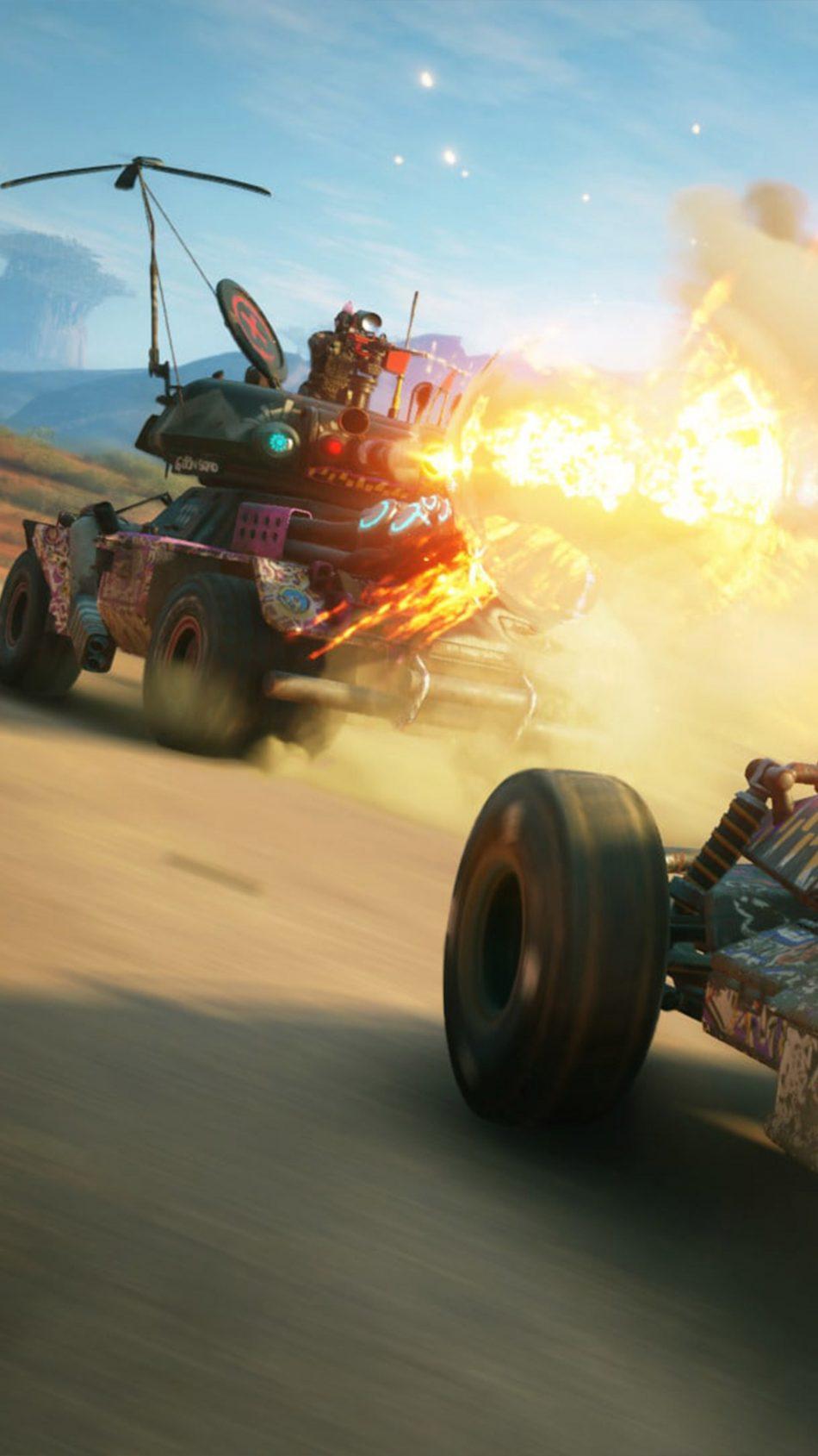 Vehicle Chase Rage 2 4K Ultra HD Mobile Wallpaper