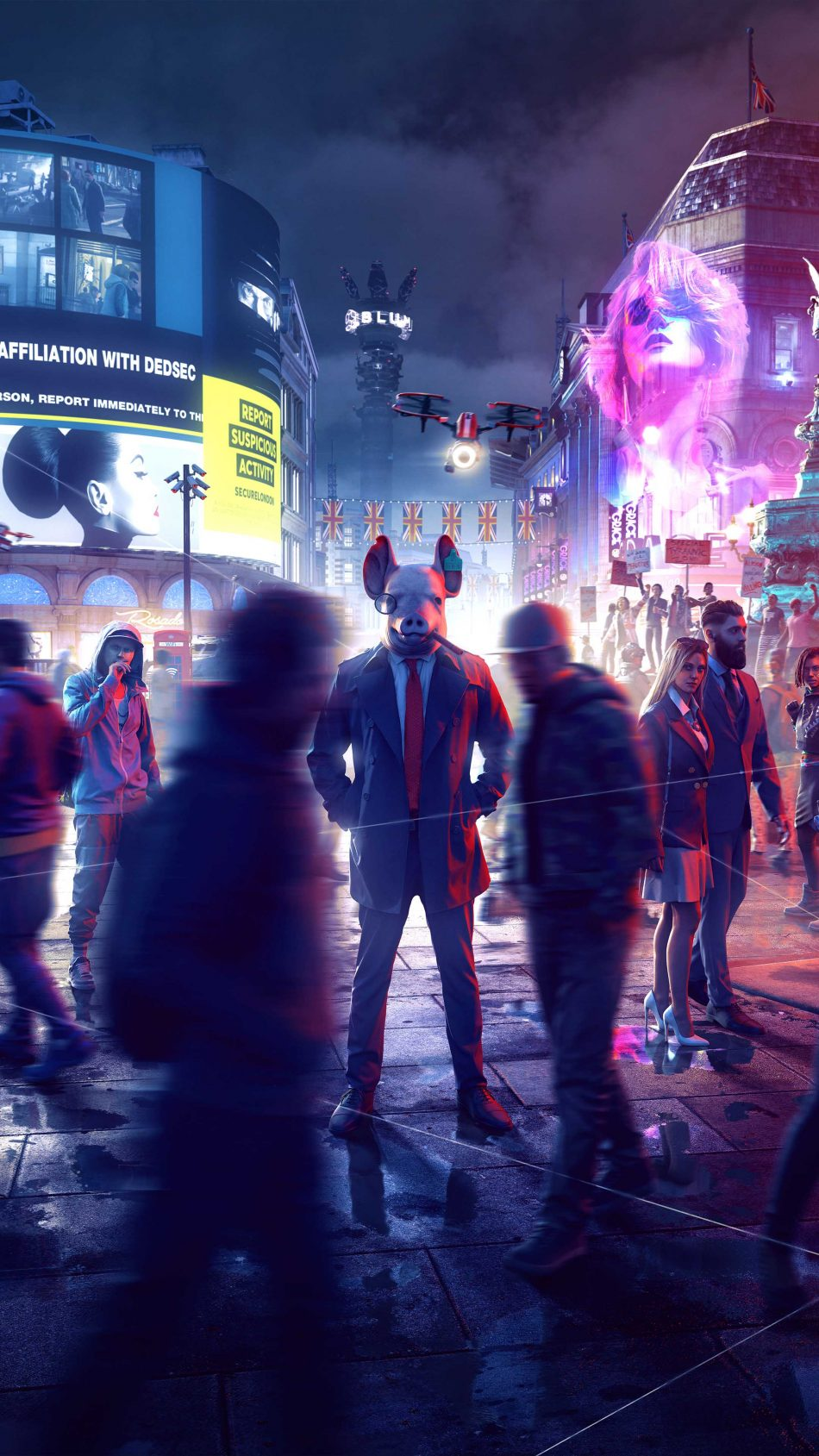 Watch Dogs Legion 2019 4K Ultra HD Mobile Wallpaper