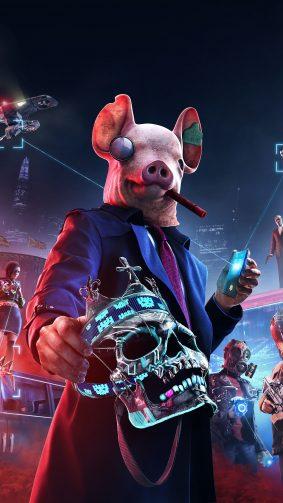 Watch Dogs Legion 2020 Video Game 4K Ultra HD Mobile Wallpaper