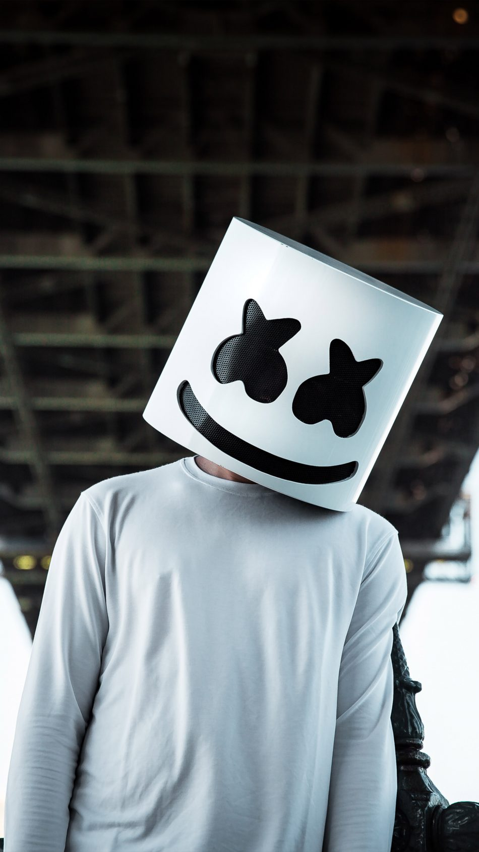 American DJ Marshmello 4K Ultra HD Mobile Wallpaper