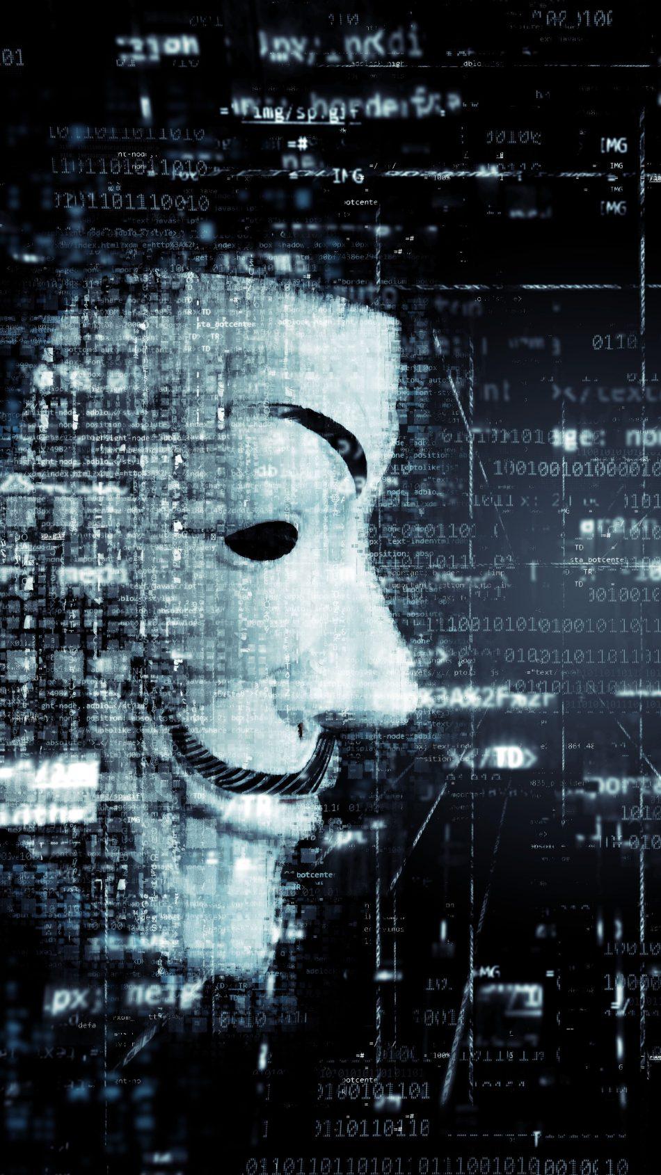 Anonymous Mask 4K Ultra HD Mobile Wallpaper