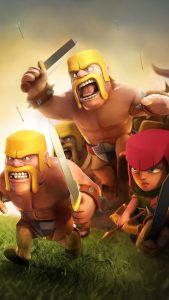 Clash of Clans Mobile Game 4K Ultra HD Mobile Wallpaper