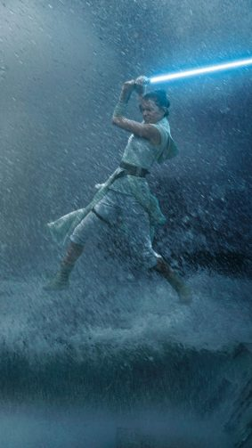 Daisy Ridley Fight In Star Wars The Rise of Skywalker 4K Ultra HD Mobile Wallpaper