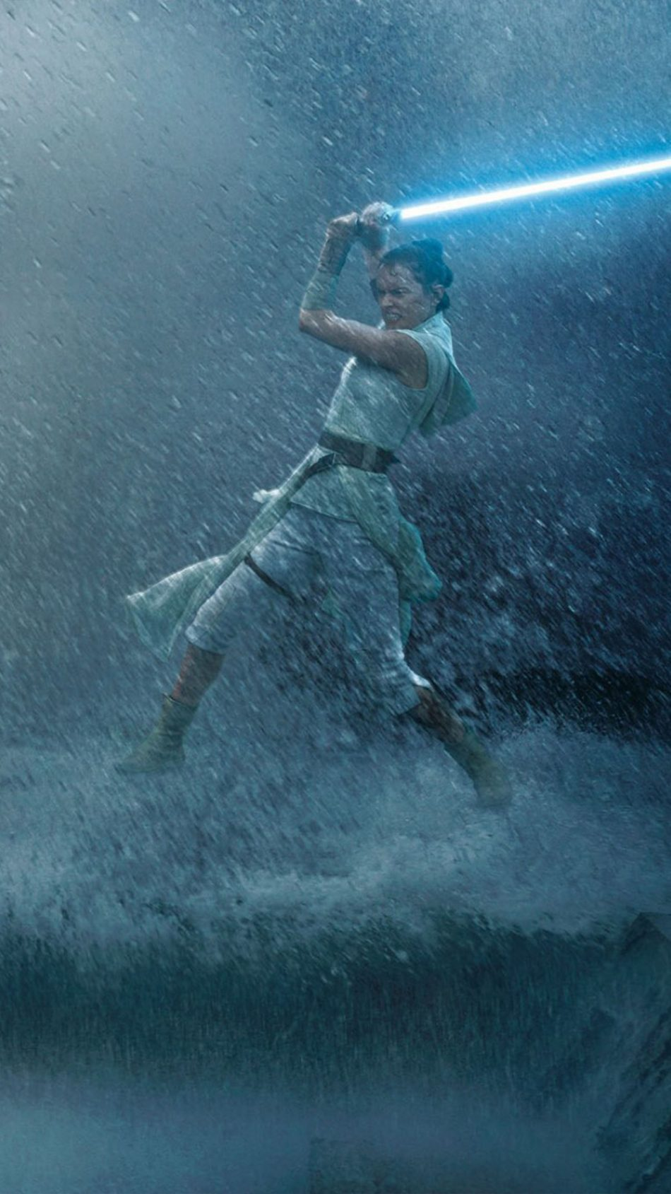 Daisy Ridley Fight In Star Wars The Rise Of Skywalker 4k Ultra Hd Mobile Wallpaper