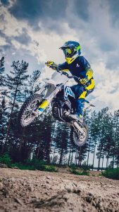 Husqvarna EE-5 Electric Dirt Bike 4K Ultra HD Mobile Wallpaper