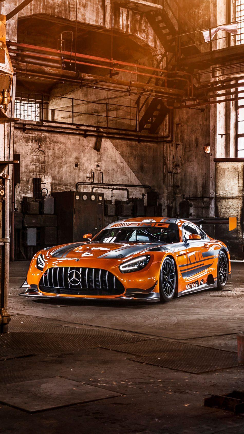Mercedes AMG GT3 2019 4K Ultra HD Mobile Wallpaper