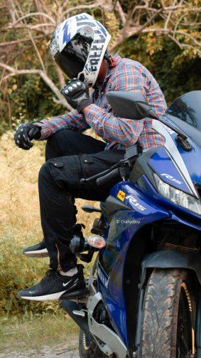 Rider Franky R15 Bike Helmet 4K Ultra HD Mobile Wallpaper
