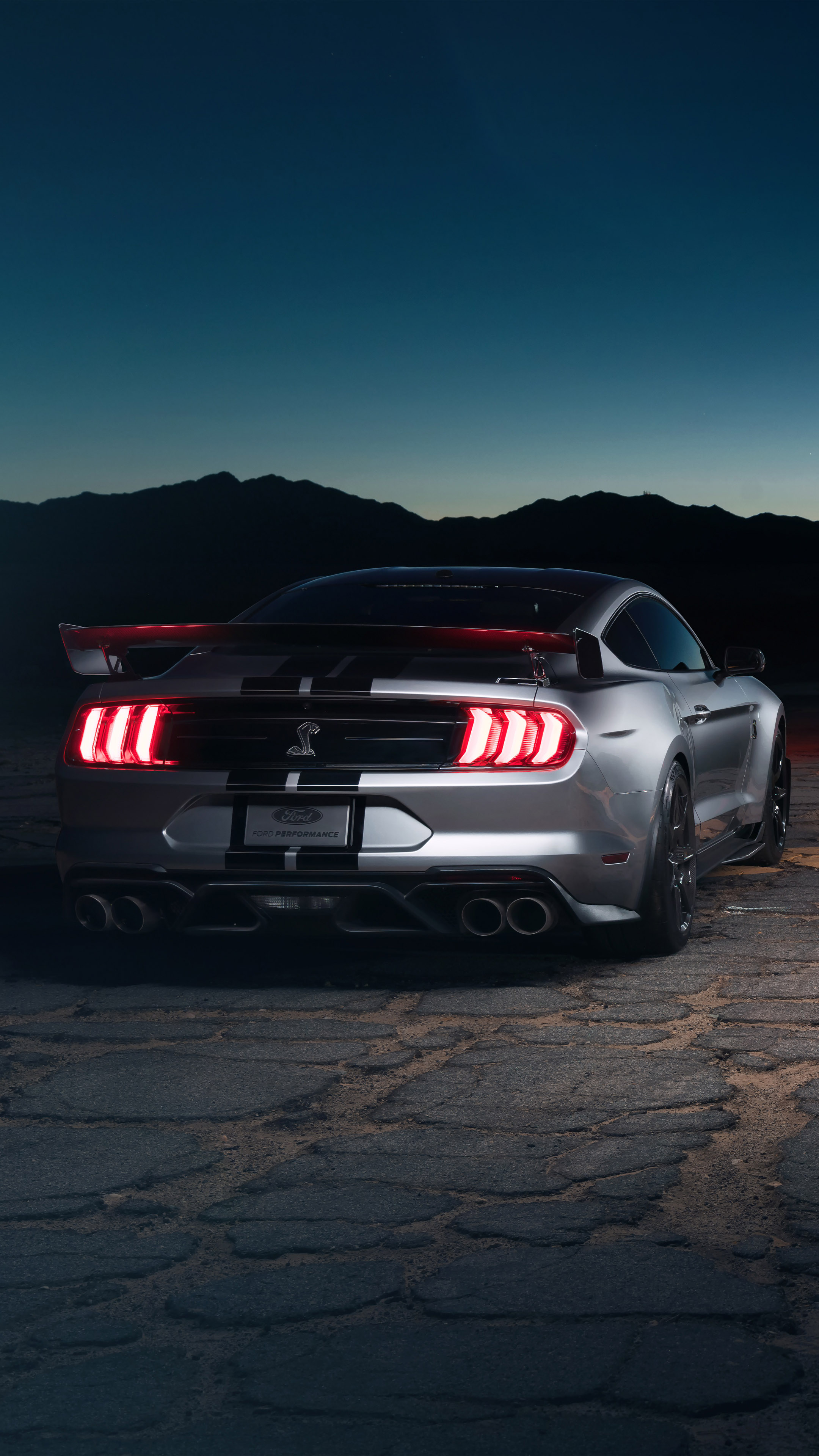 Ford Mustang Shelby GT500 4K Ultra HD Mobile Wallpaper