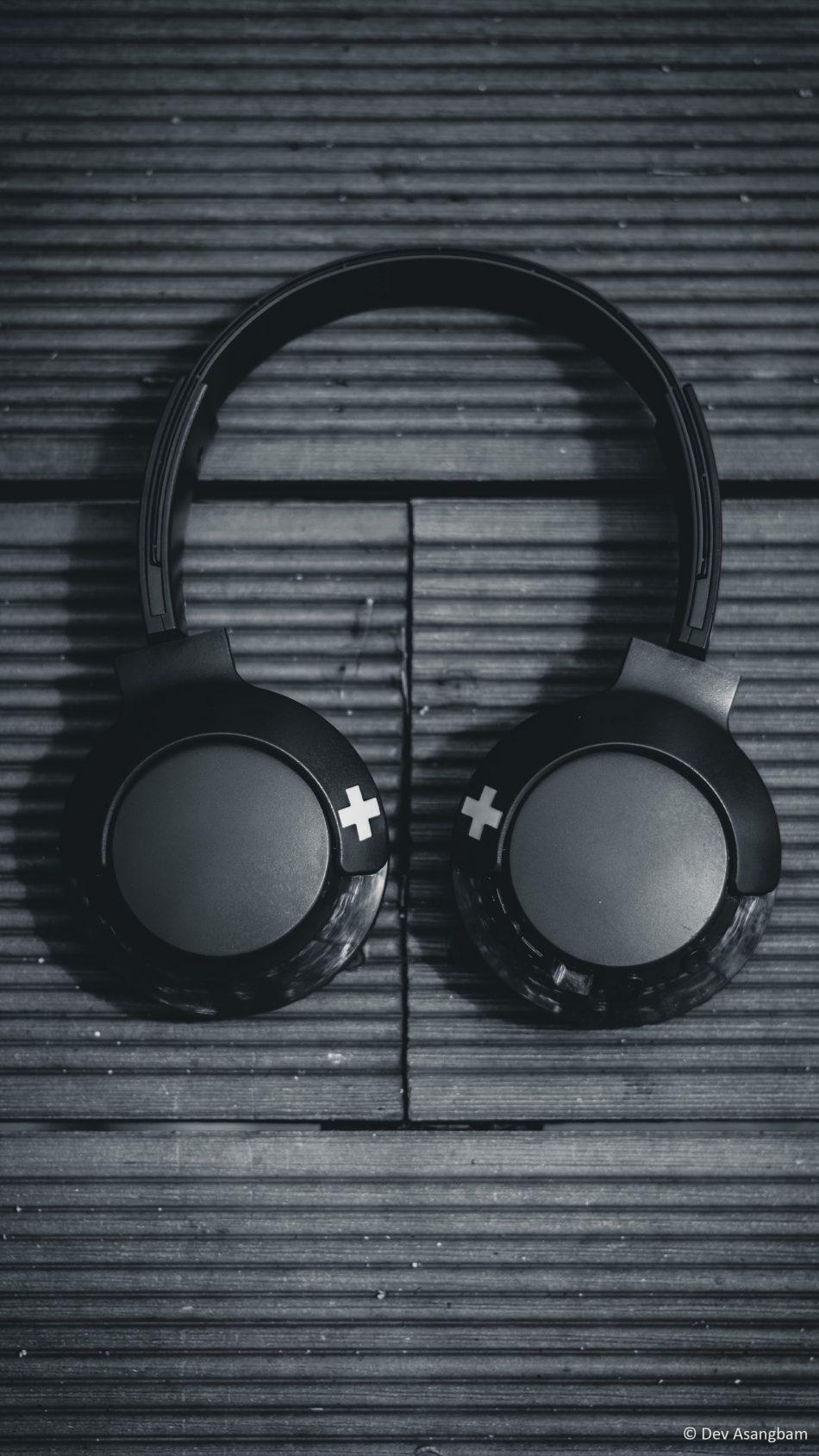 Download Headphone Wireless Music Black White Free Pure 4k