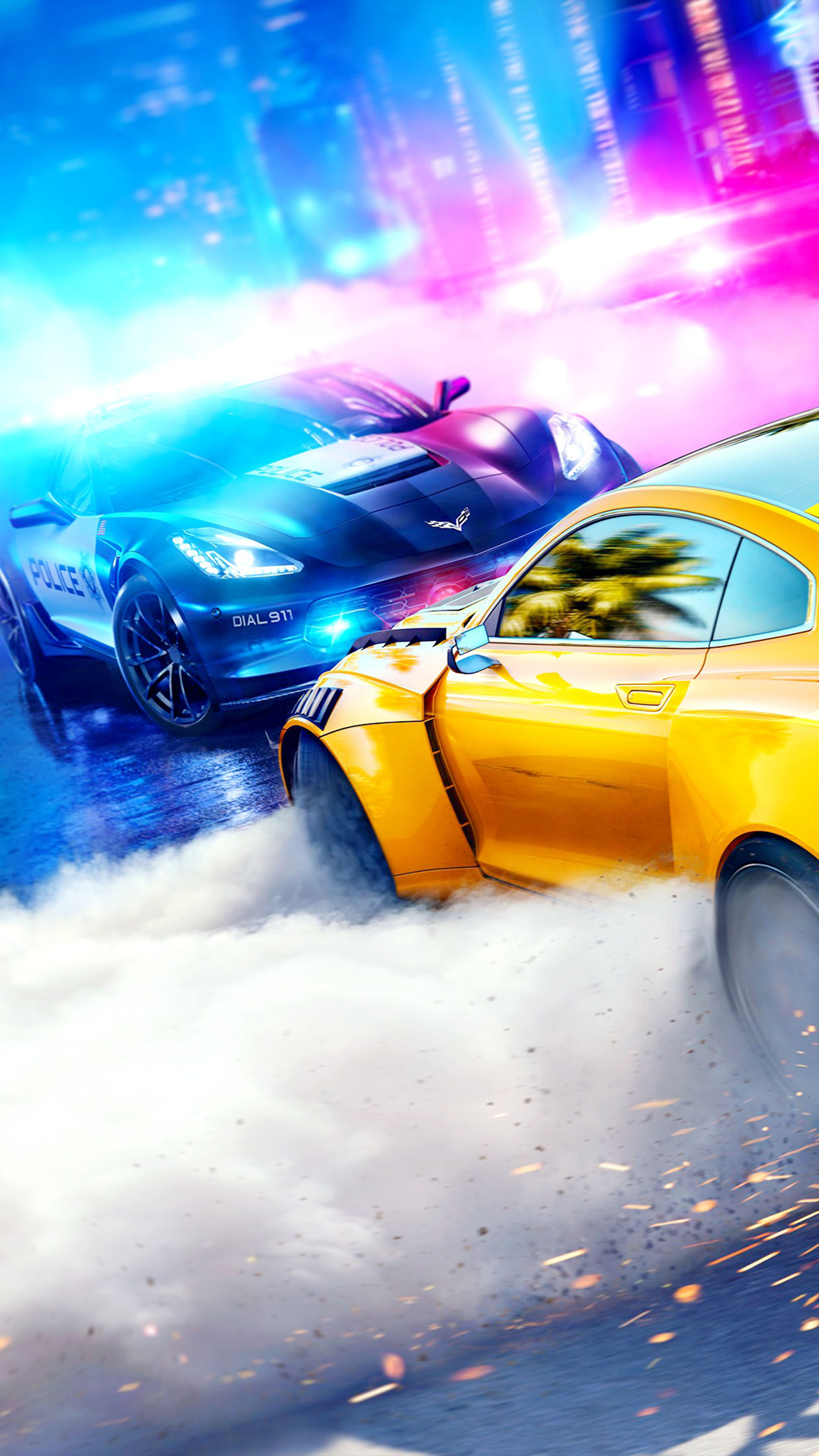 Need For Speed Heat Free Pure 4k Ultra Hd Mobile Wallpaper