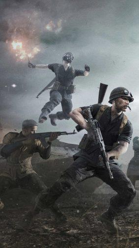 PUBG Squad War 4K Ultra HD Mobile Wallpaper