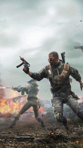 PUBG Squad War Firing 4K Ultra HD Mobile Wallpaper