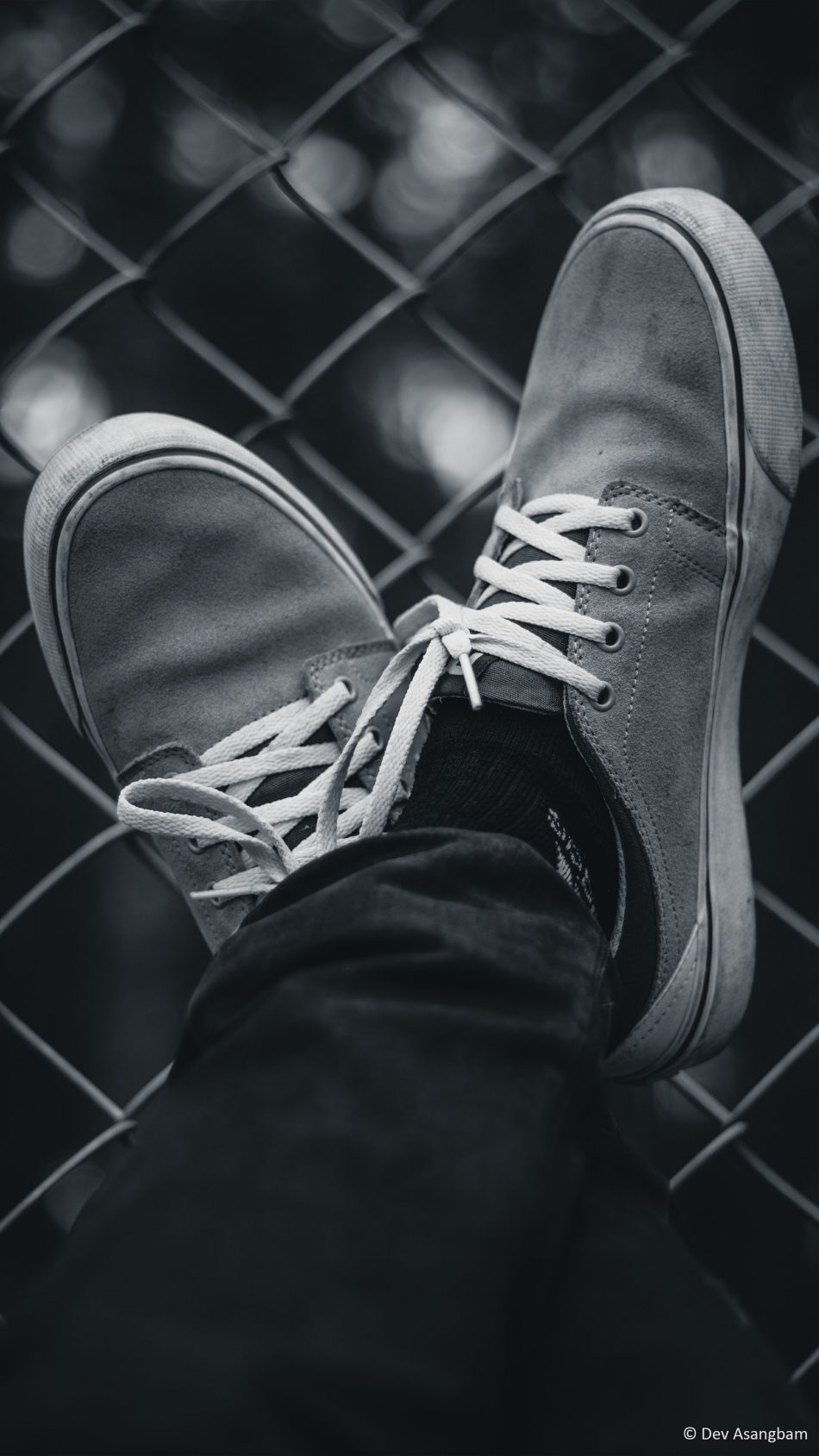 Download Sneakers Black White Photography Free Pure 4k