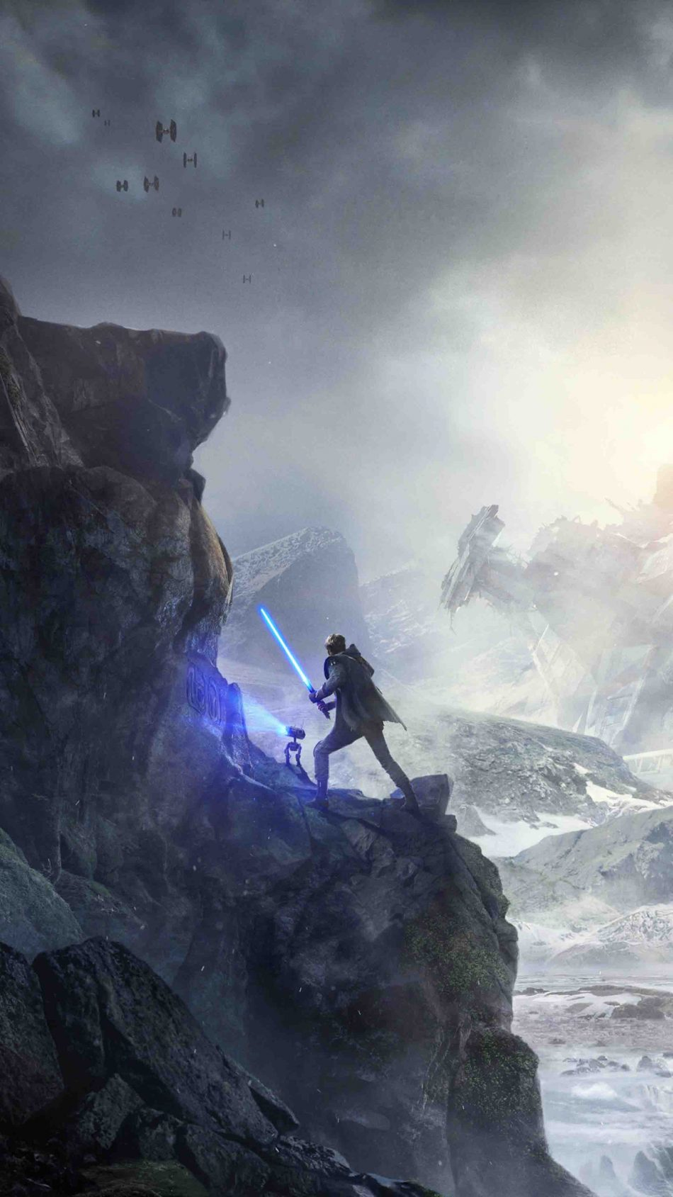Star Wars Jedi Fallen Order PS4 Game 4K Ultra HD Mobile Wallpaper