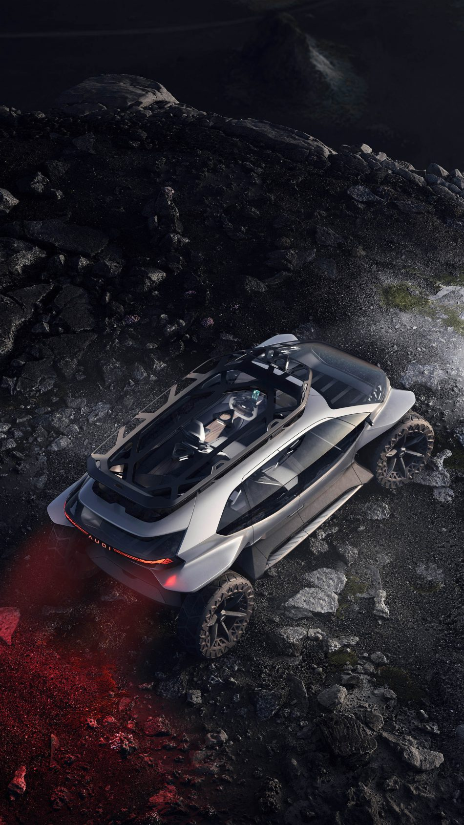 Audi AI Trail Quattro Electric Off Roader Frankfurt Motor 4K Ultra HD Mobile Wallpaper