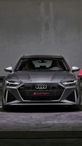 Audi RS6 Avant 2020 4K Ultra HD Mobile Wallpaper