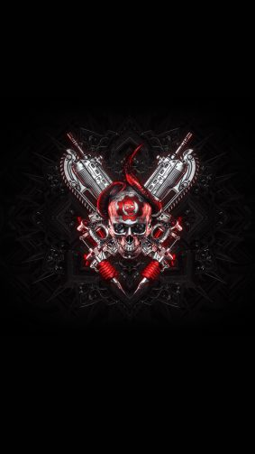 Gears 5 Skull 4K Ultra HD Mobile Wallpaper