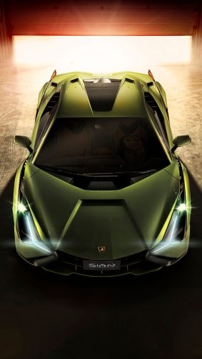 Lamborghini Sian 2019 4K Ultra HD Mobile Wallpaper
