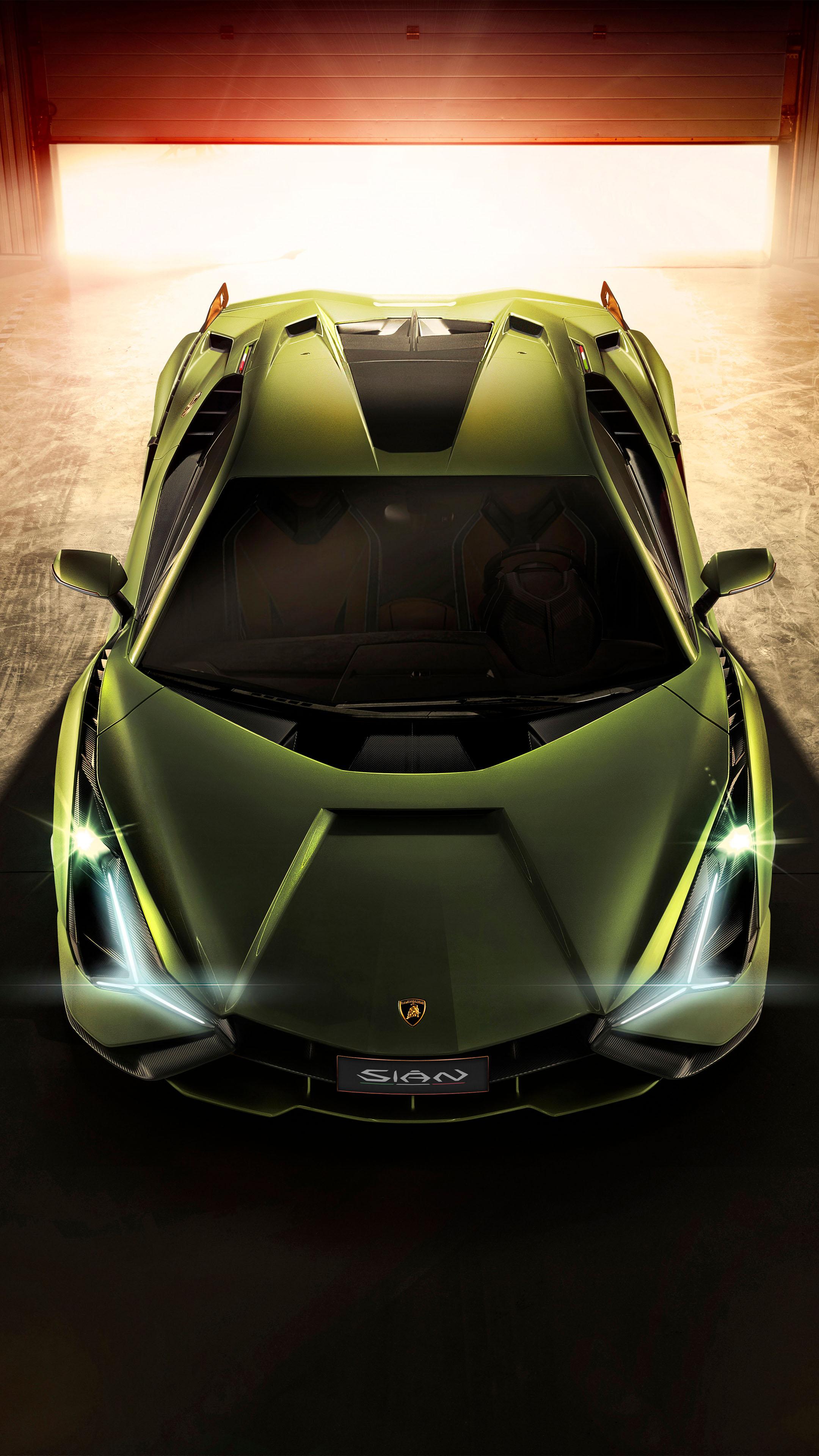 Lamborghini Sian 2019 Free 4K Ultra HD Mobile Wallpaper