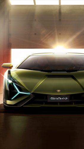 Lamborghini Sian Hybrid Supercar 2019 4K Ultra HD Mobile Wallpaper