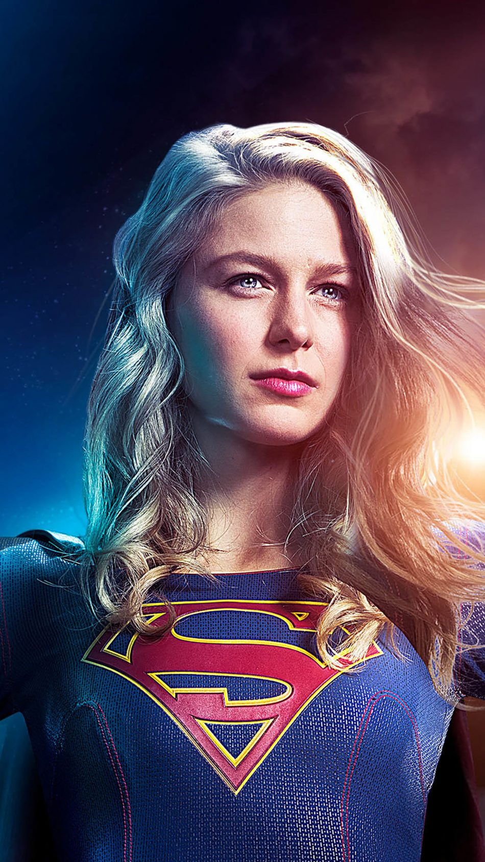 Melissa Benoist Supergirl Season 5 4K Ultra HD Mobile Wallpaper