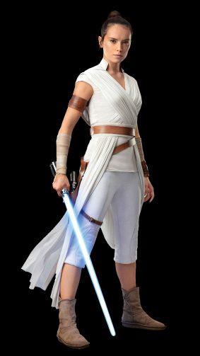 Daisy Ridley As Rey Star Wars The Rise of Skywalker 2019 4K Ultra HD Mobile Wallpaper