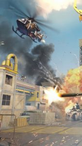 Helicopter Gun Fire Call of Duty Mobile 4K Ultra HD Mobile Wallpaper
