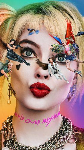 Margot Robbie In & As Harley Quinn In Birds of Prey 2020 4K Ultra HD Mobile Wallpaper