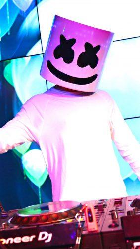 Marshmello Live Concert 4K Ultra HD Mobile Wallpaper