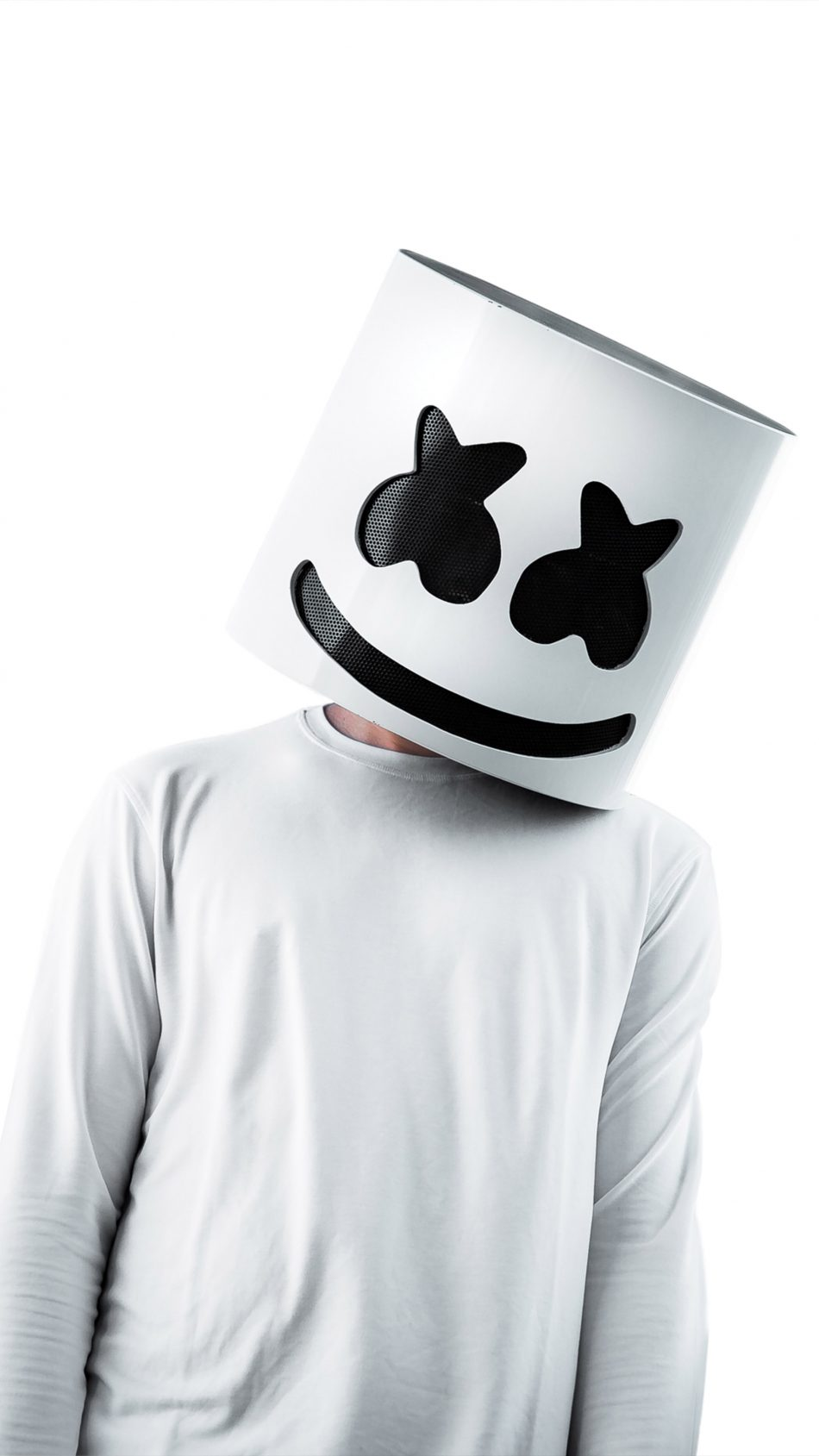 Download Marshmello White Background Free Pure 4k Ultra Hd