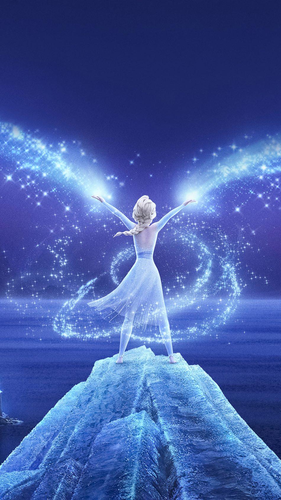 Queen Elsa Frozen 2 2019 4K Ultra HD Mobile Wallpaper
