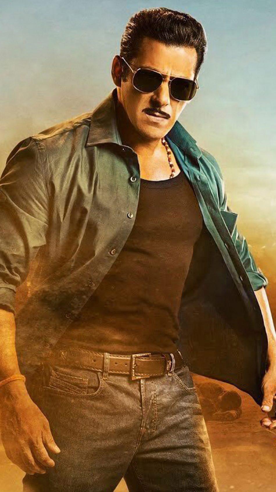 Salman Khan In Dabangg 3 4K Ultra HD Mobile Wallpaper