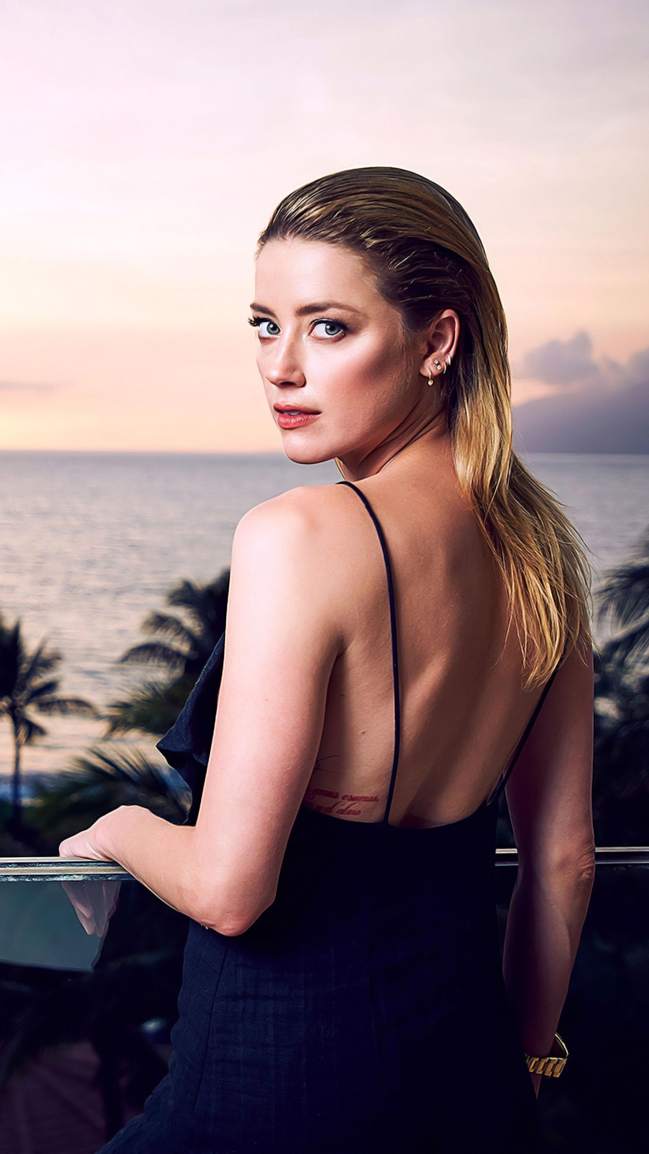 Amber Heard Maui Film Festival 2019 Free 4k Ultra Hd Mobile Wallpaper