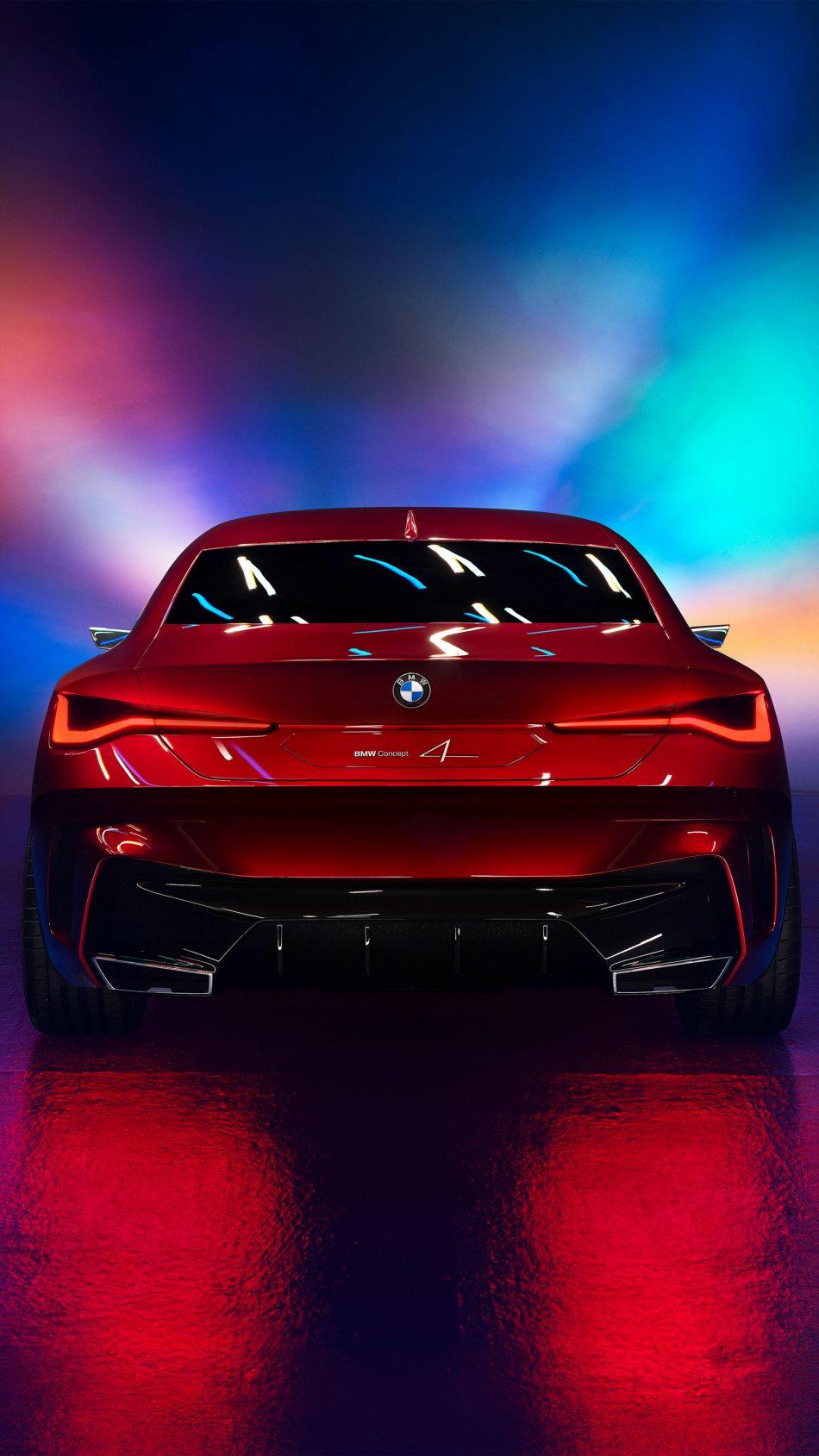 BMW Concept 4 2019 4K Ultra HD Mobile Wallpaper