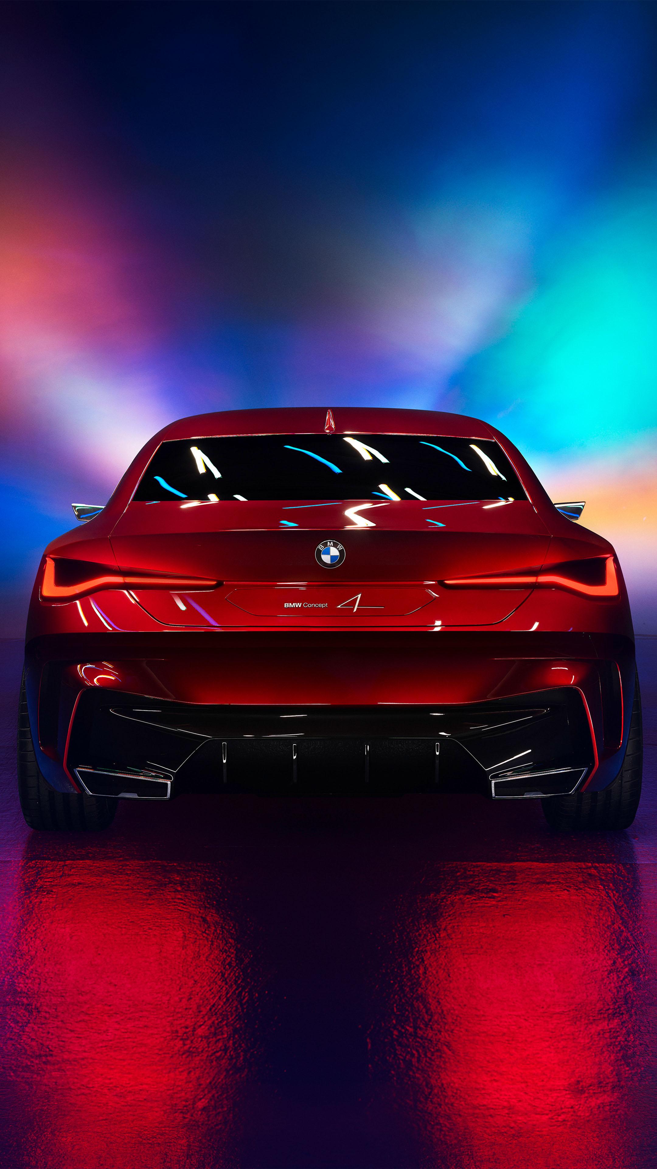 BMW Concept 4 2019 Free 4K Ultra HD Mobile Wallpaper