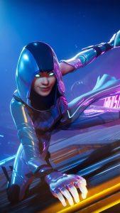 Neon Glow Skin Fortnite 4K Ultra HD Mobile Wallpaper