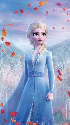 Queen Elsa In Frozen 2 Walt Disney Animation 2019 4K Ultra HD Mobile Wallpaper