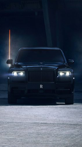 Rolls Royce Cullinan Black Badge 2019 4K Ultra HD Mobile Wallpaper