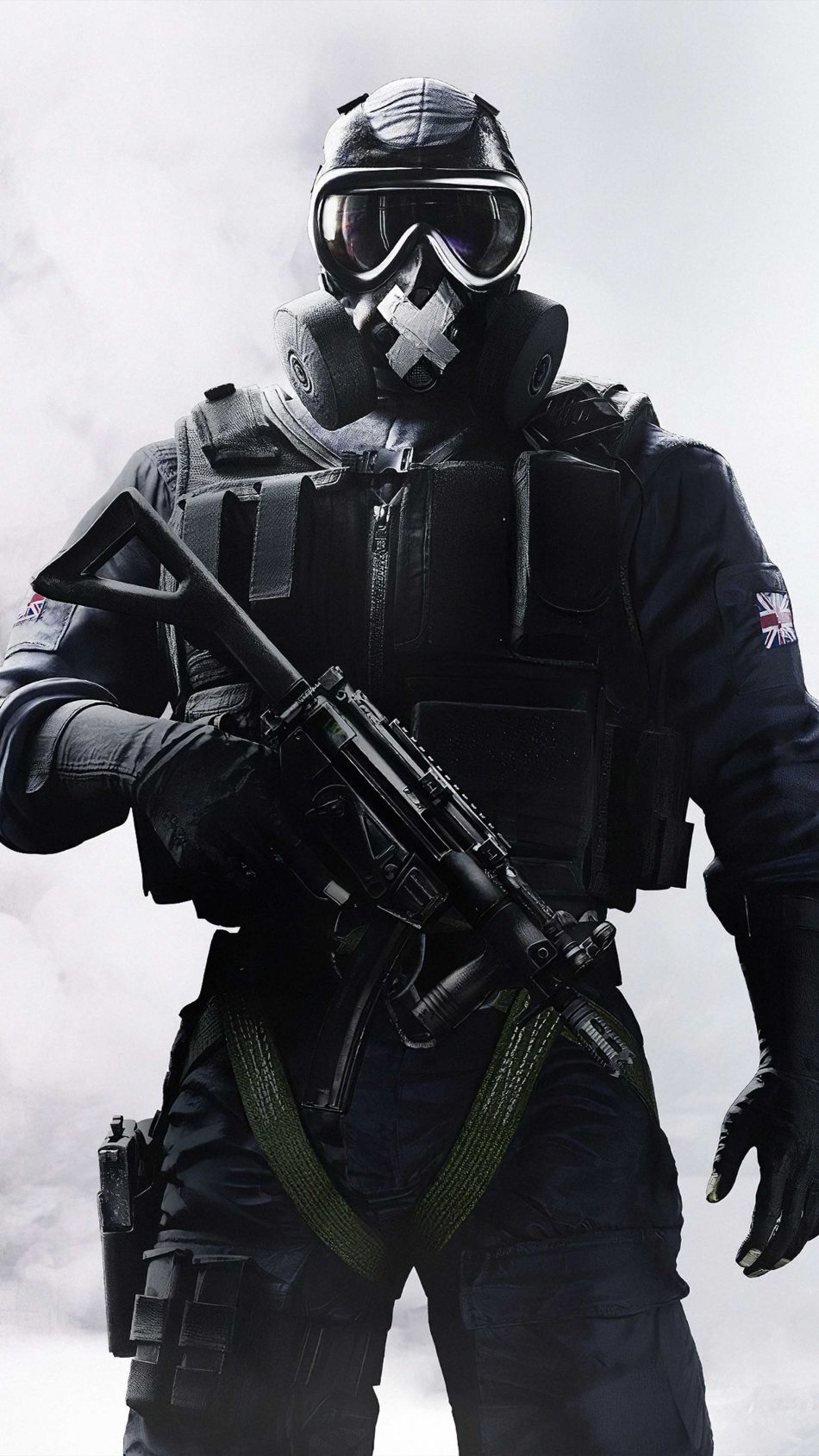 Soldier Mask Man Rainbow Six Siege 4K Ultra HD Mobile Wallpaper